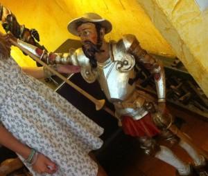 ¿El Cid? (foto: Uve)