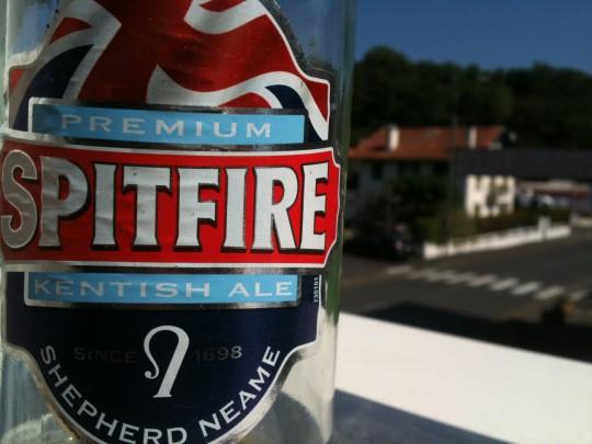 ¿Quién se ha bebido la Spitfire? (foto: Igor Cubillo)