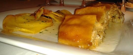 Cochinillo, bien crujiente, en el restaurante Cachetero (foto: Primo)