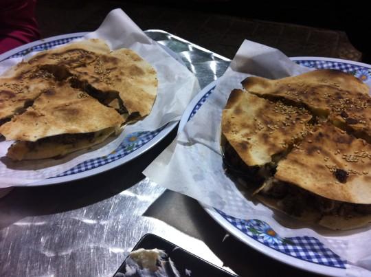 Par de pitas de Bar Coffee & Tea Capuccino (foto: María Mora)