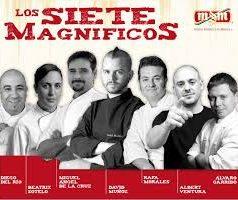 Los siete magníficos de Mahou-San Miguel. Los chefs son las nuevas rock star