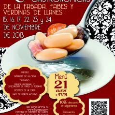Jornadas Gastronómicas de la Fabada, Fabes y Verdinas de Llanes