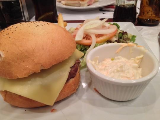 hamburguesa del Okela Baster, bella sin alma