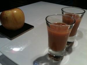 Gazpacho de melocón, de El Clarete (f: Igor Cubillo)