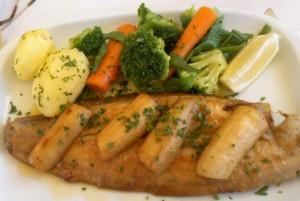 Lenguado a la deliciosa, de Porto de Cascais (f: O.C.E.)