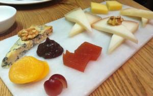 Surtido de quesos de La Taberna del Gourmet (f: María Mora)