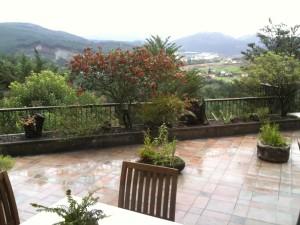 Terraza y vistas de Andra Mari (foto: Cuchillo)