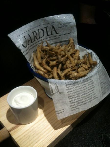Pipas marinas, el pescaito frito de perretxiCo (foto: Cuchillo