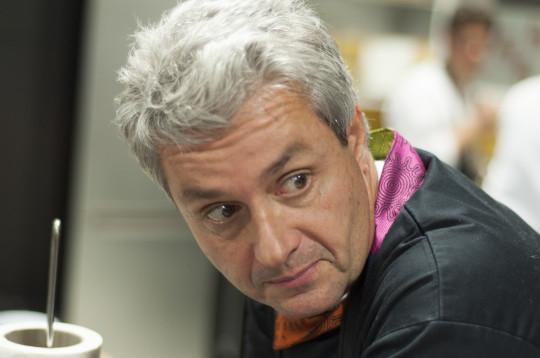 Fernando Canales, relajado en Txoko Nekasu (foto: Iñigo Merino)