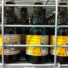 Cerveza Olañeta. Bien buenas la rubia y la morena