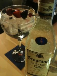 Gin & tonic de Seagram's (foto: Igor Cubillo)