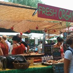 Comer en  Camden Town (Londres)