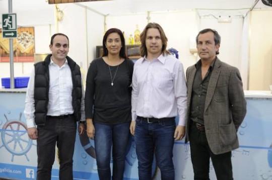 Eneko Velasco, Juliana Morelli, Manuel Gómez y Dicky del Hoyo.   Fotos:Fernando Gómez