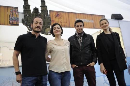 Igor Cubillo, Ana Vega, Jaume Pineda y Laura Arias.   Foto: Fernando Gómez