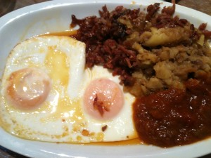 Huevos a la brasa (foto: Cuchillo)