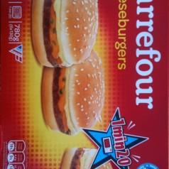Cheeseburger Carrefour. Ángel de amor (prepoetinado).