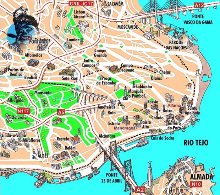Una guia diferente de lisboa para aquellos que no quieren hacer el turista lo que coma don manuel - Que hay en portugal ...