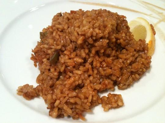 Mi ración de arroz, en La Barraca (foto: Cuchillo)