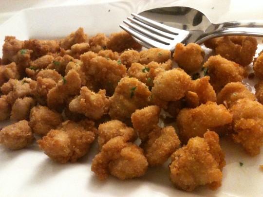 Mollejas de cordero, de restaurante Markina (foto: Cuchillo)