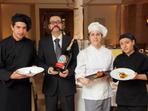 Alfaro, Solanas y Andia + 1 (foto: restaurantearagonia.com)