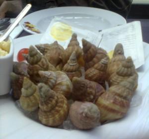 Bulots, los caracolillos franceses (foto: OCE)