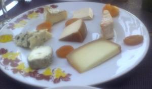 Surtido de quesos, en Le Coq d'Or (foto: Susana)