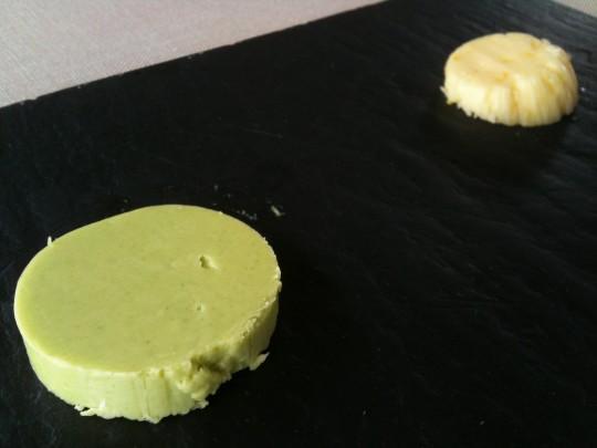 Mantequillas caseras, detalle de La Salgar (foto: Cuchillo)