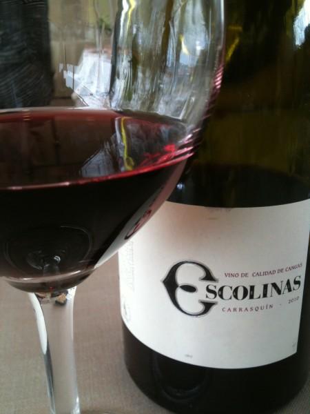 Escolinas, vino asturiano (foto: Cuchillo)