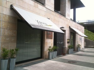 Fachada del restaurante Xarma (foto: Cuchillo)
