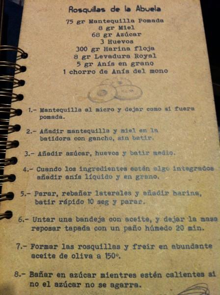 "Receta de ""Rosquillas de la abuela"", en Hogar Dulce Hogar (foto: Uve)"