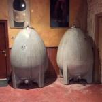 Los huevos de donde sale el vino