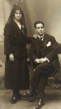 marcelina martinez y julian del hoyo foto de matrimonio 1925