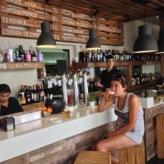 Amita (Suances). El bar renovado y el menú ocultado