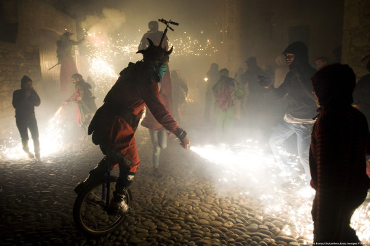 Correfoc en Girona (David-Borrat-_-Archivo-Imagenes-PTCBG)