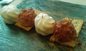 Tomillo y pan con tomate (foto: Cuchillo)