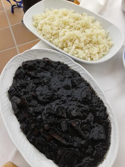 Calamares con arroz.