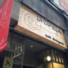 LaCamelia(Bilbao). ¿Quién dijo que el buen sushi tiene que llevar pescado?