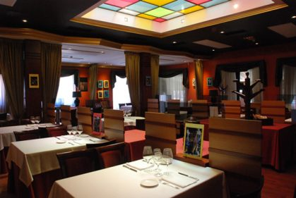 Comedor del restaurante El Frontón (foto: Territorio Gastronómico)