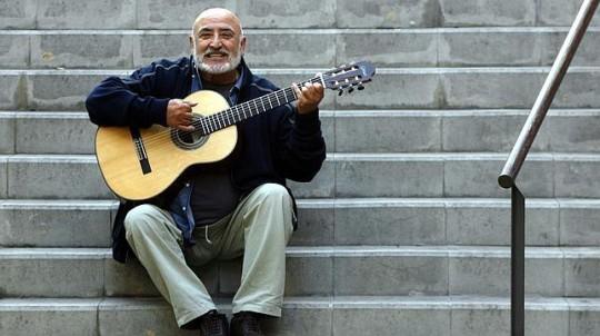 El gran Peret, embajador de la alegría del cante y del baile (foto: Yolanda Cardo)