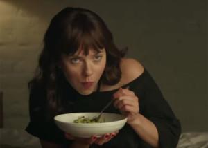 Scarlett Johannson tiene un orgasmo gastronómico