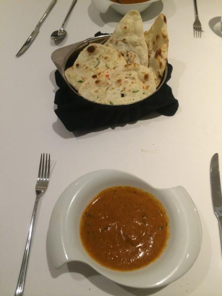 El plato nacional británico, según Gaggan (foto: Idoia Agorria)