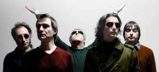 Imagen promocional de Los Planetas, referente del indie pop español.