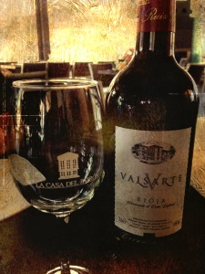 El vino que sirve El Patrón (foto: Mr. Duck)