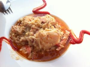 Excelso salpicón de bogavante (foto: Cuchillo)
