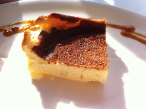 Tarta de gamoneu, en Güeyu Mar )(foto: Cuchillo)