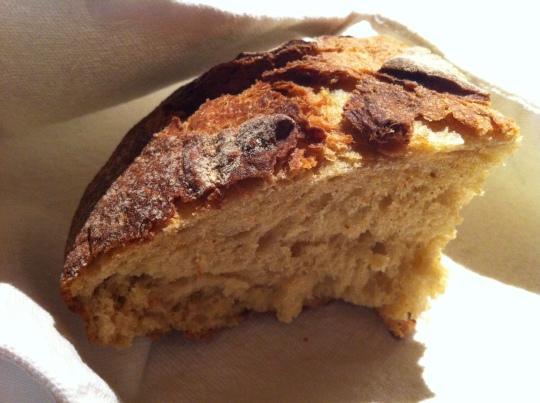 Sí, en Mugaritz también sirven pan (foto: Cuchillo)