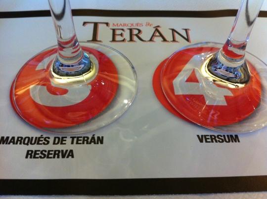 Listos para catar los vinos de Marqués de Terán (foto: Cuchillo)