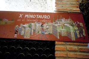 Detalle en las galerías de Yllera (foto: M.A. Muñoz)