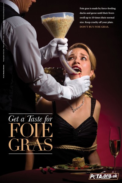 Prince Charles bans Foie Gras