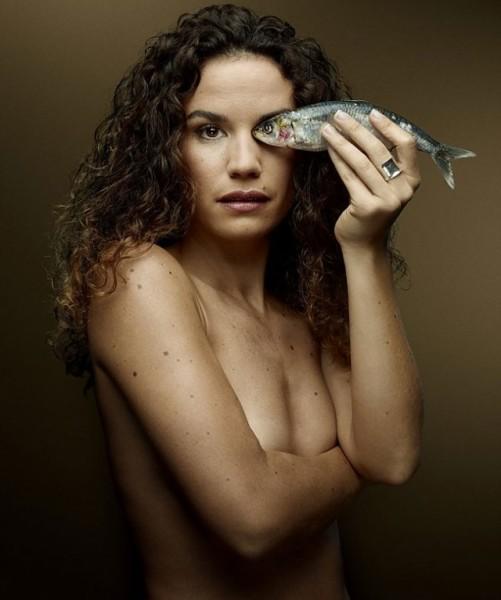 La actriz Barbara Cabrita (foto: Denis Rouvre)